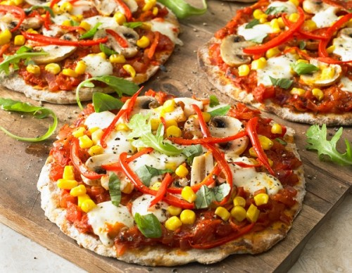Mini Flatbread Pizza