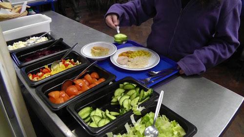 Child-at-salad-bar-servery