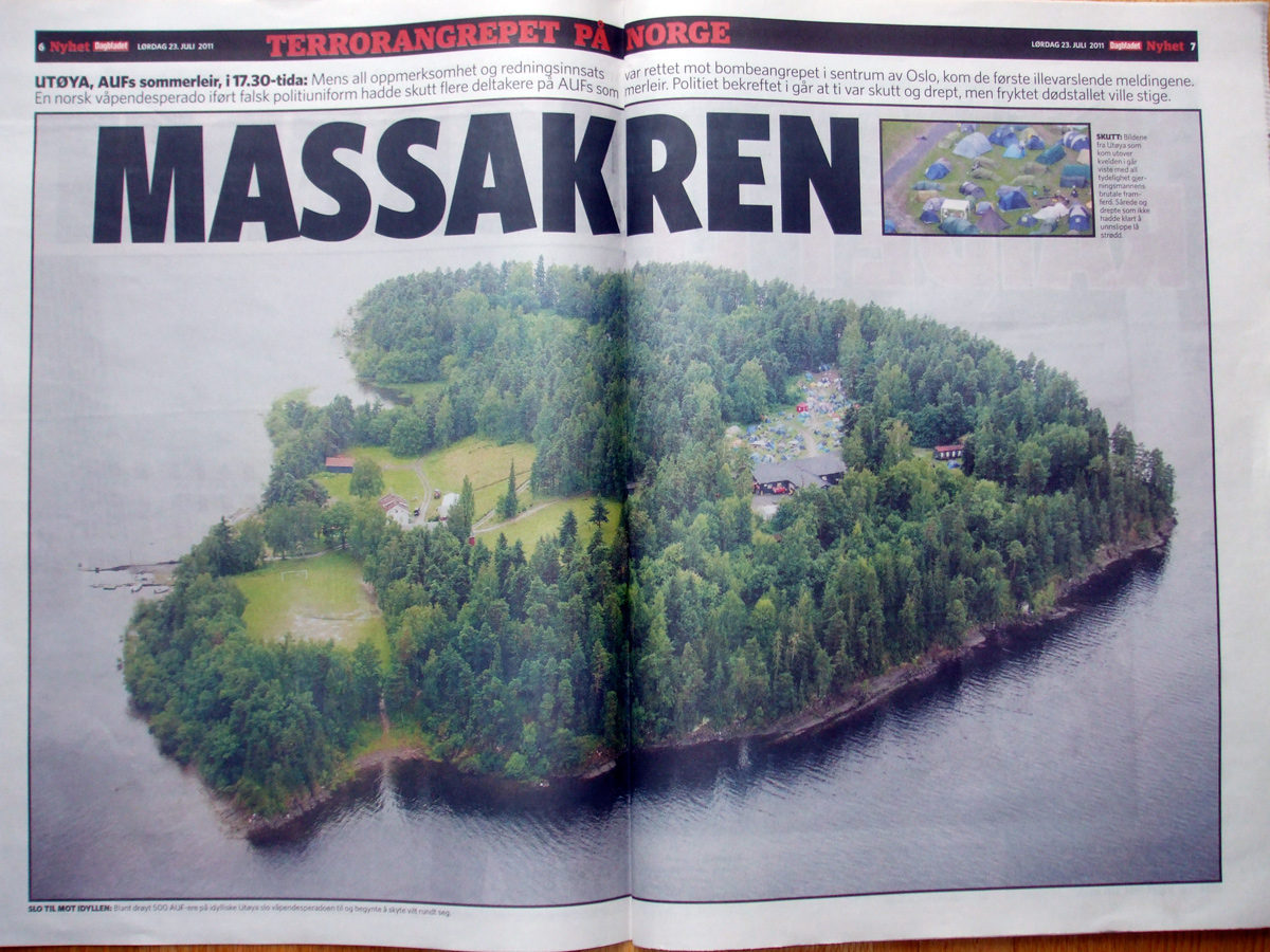 Inside Norwegian newspaper Dagbladet