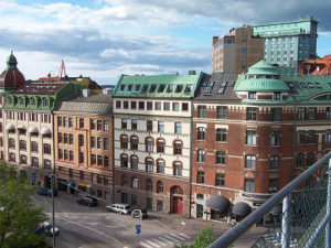 A view of Göteborg, Sweden