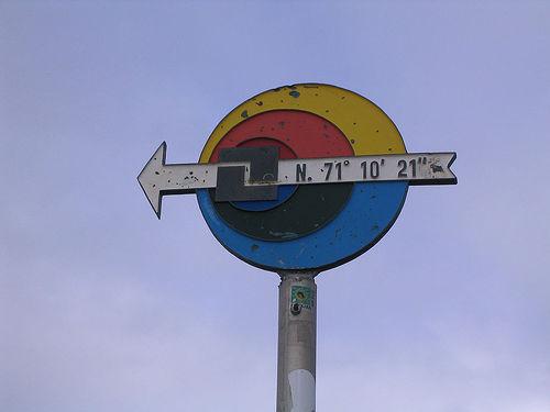 Nordkapp latitude sign