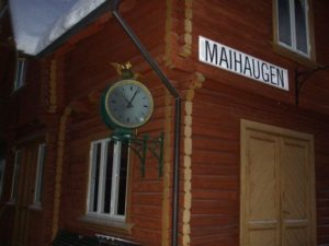 "Maihaugen ""train station"""