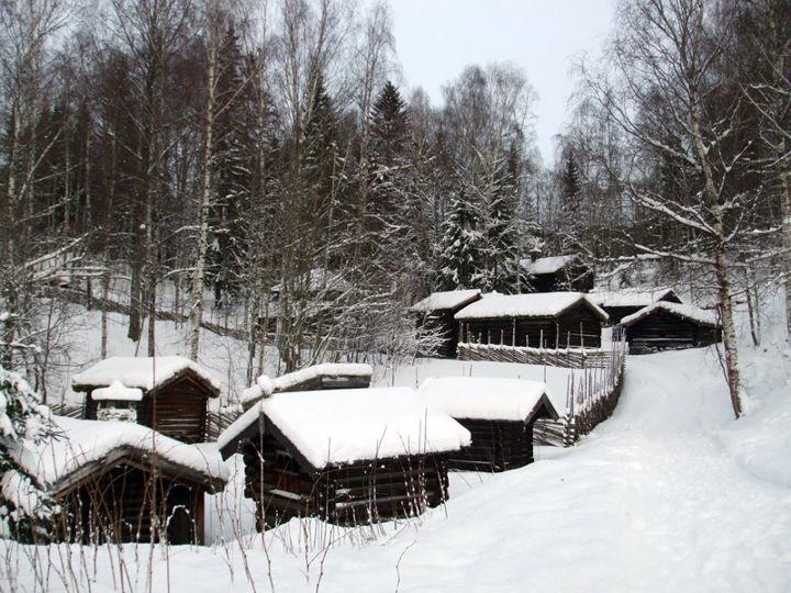 Open-air exhibits at Maihaugen, Lillehammer
