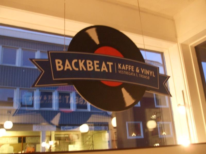 Backbeat vinyl store in Tromso, Norway