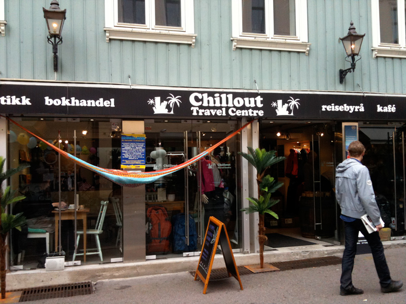 Chillout Travel Centre Cafe on Markveien in Oslo