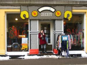 Robot shop on Markveien in Grunerløkka, Oslo