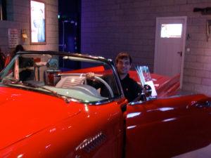 Me in a car