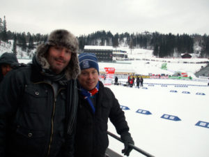 Brian and Joe at Holmenkollen