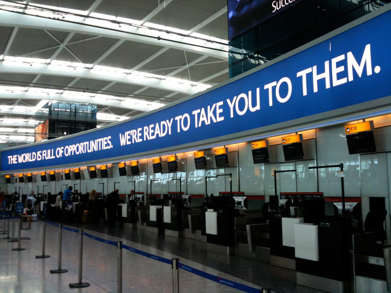 Heathrow airport jobs check in