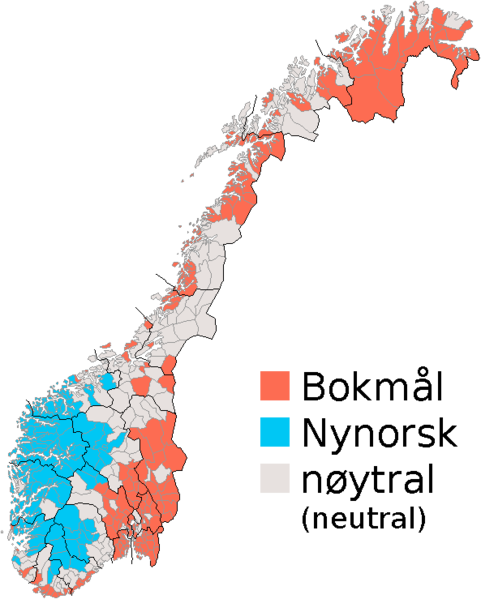 Written forms of Norwegian