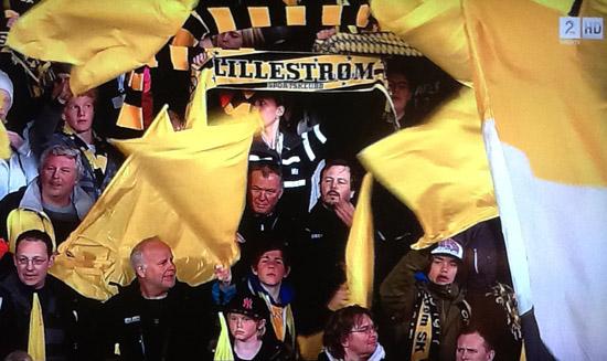 Lillestrøm fans vs Vålerenga