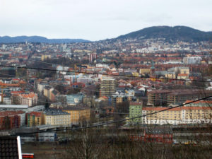 View of Oslo from Ekeberg