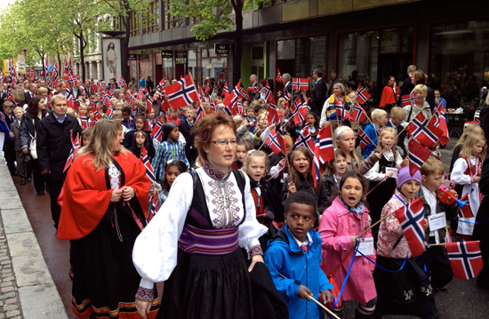 Constitution Day Parade in Oslo