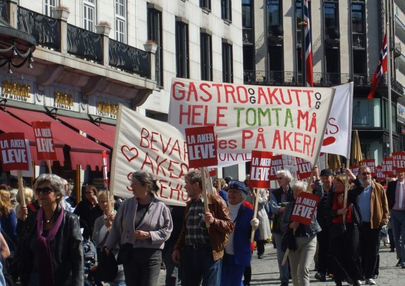 Oslo Labour Day parade