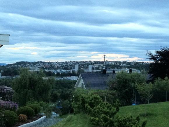 Trondheim skyline