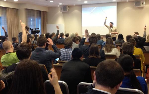 Room 2 at WordCamp Norway 2013