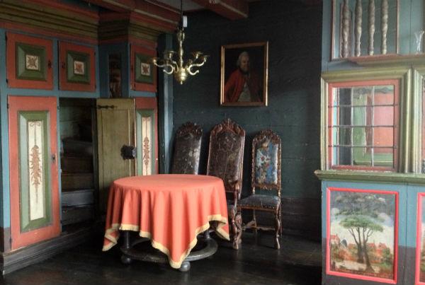 Interior of Hanseatic Museum