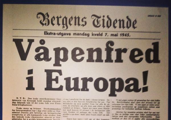 Ceasefire in Europe
