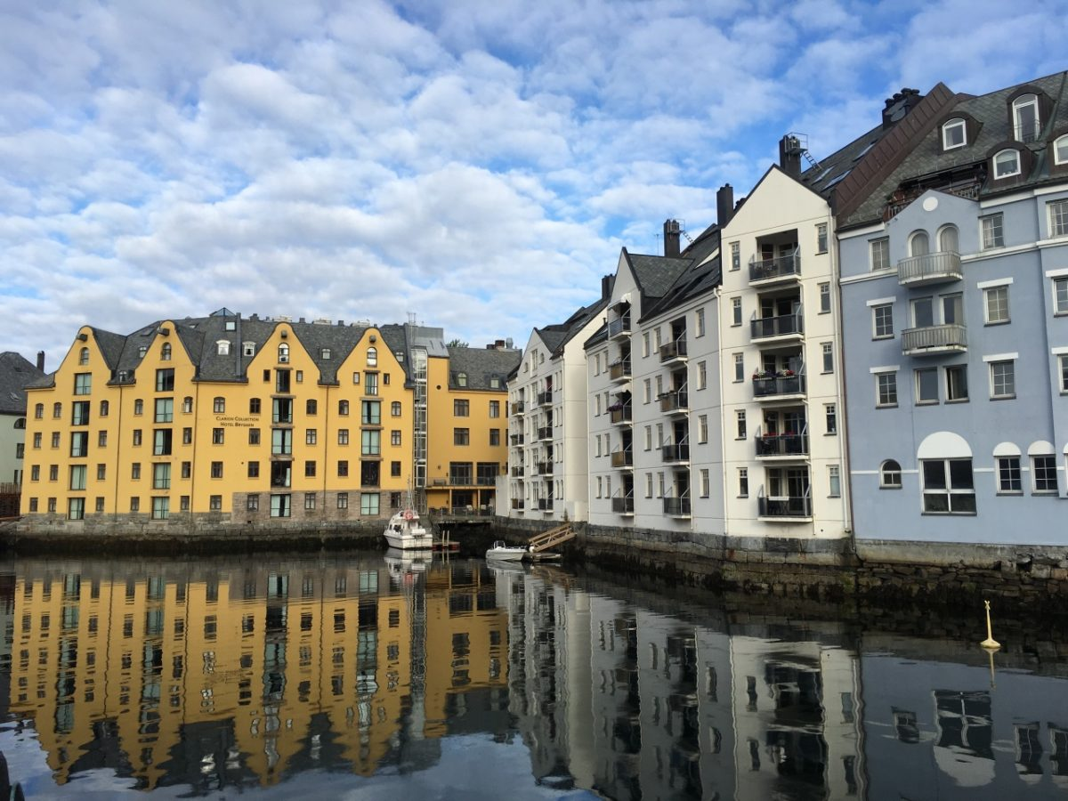 Charming Ålesund in Norway