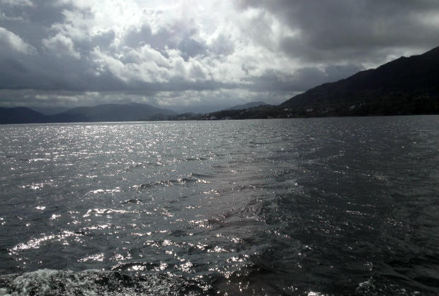 Sailing on the Osterfjord