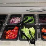 Breakfast salad bar