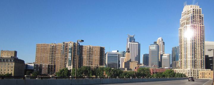 Minnesota city view