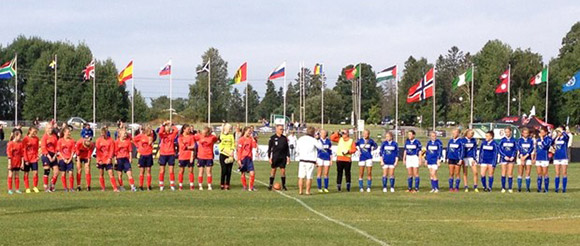 Norway Cup game
