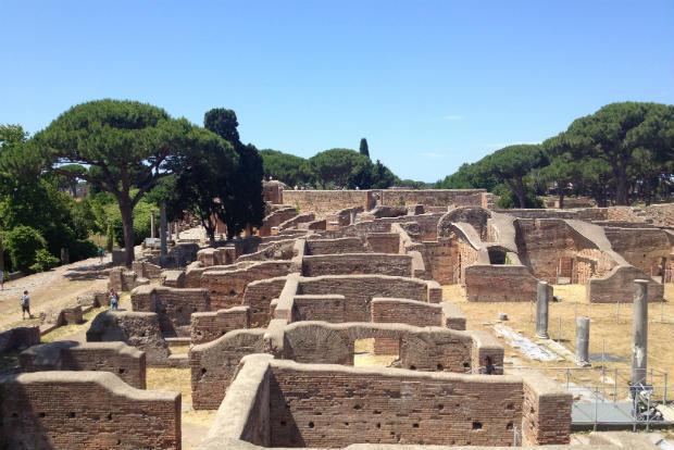 Ostia Antica ruins
