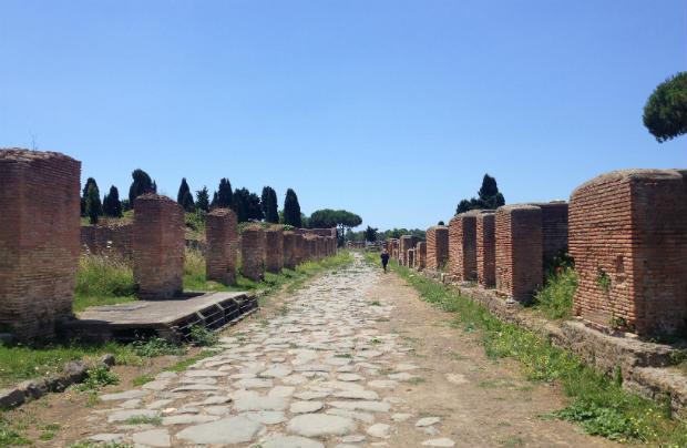 Ostia Antica in Italy