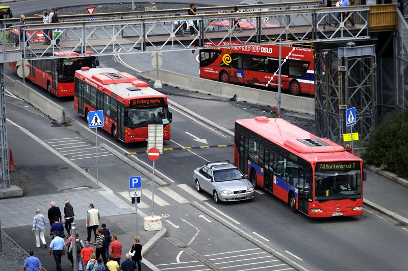 Local buses in Oslo, Norway