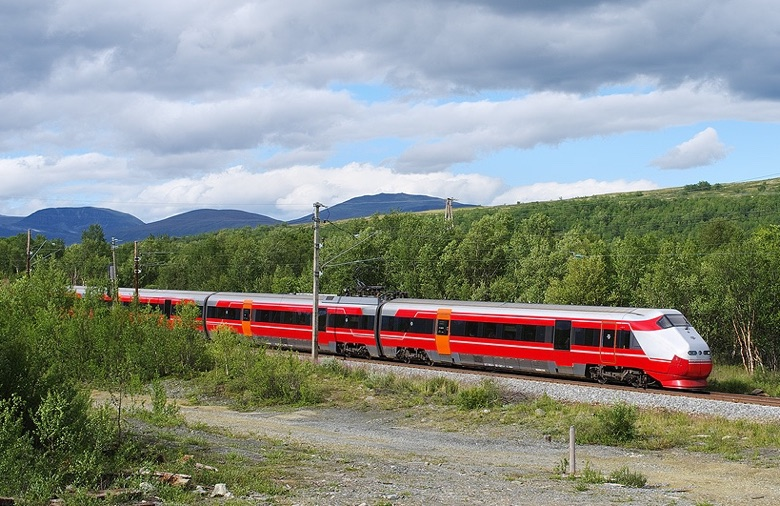 NSB train in Norway