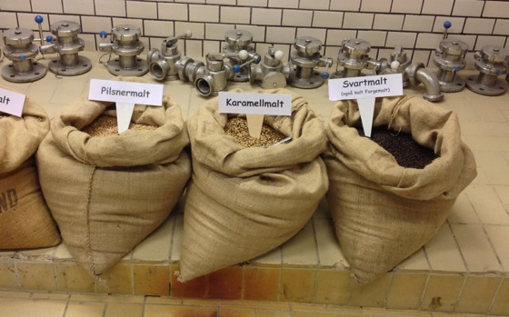 Bags of malt
