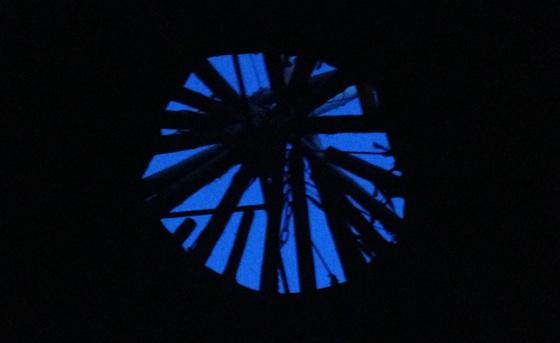 Inside a lavvo