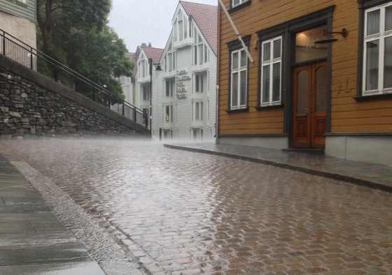 Rain in Stavanger
