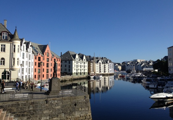 Beautiful morning in Ålesund