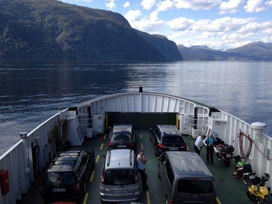 Eidsal to Linge ferry