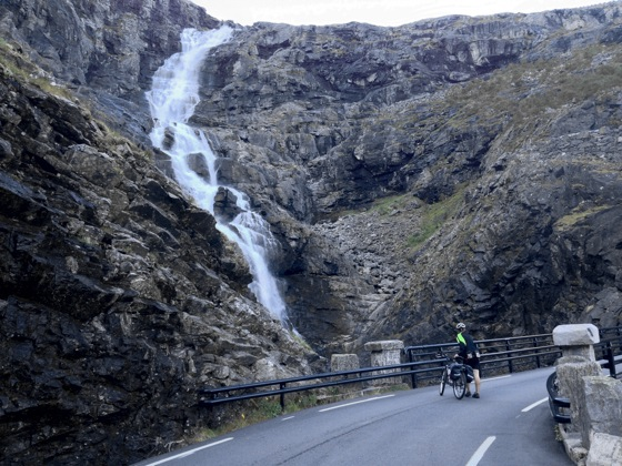 Trollstigen Bridge over Stigfossen