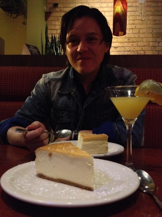 Dessert at Pizza Luce