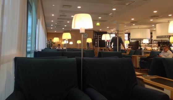 SAS Business lounge at Stockholm Arlanda
