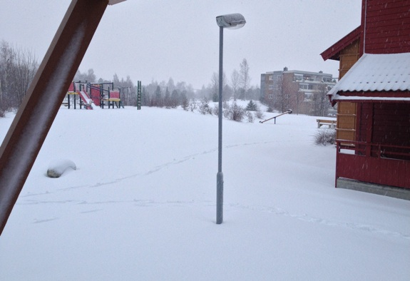 Snow in Trondheim