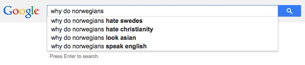 Why do Norwegians?