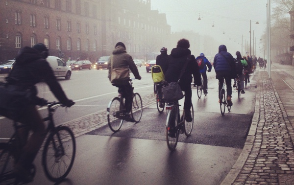 Copenhagen rush-hour