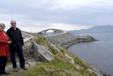 Fly With Us on the Atlantic Road