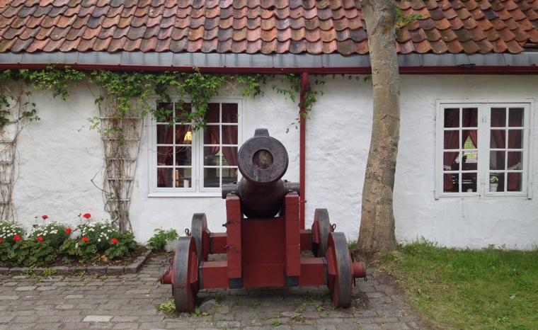 Old Munkholmen cannon