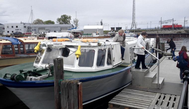 Ferry in Trondheim
