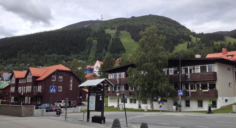 View of Åreskutan