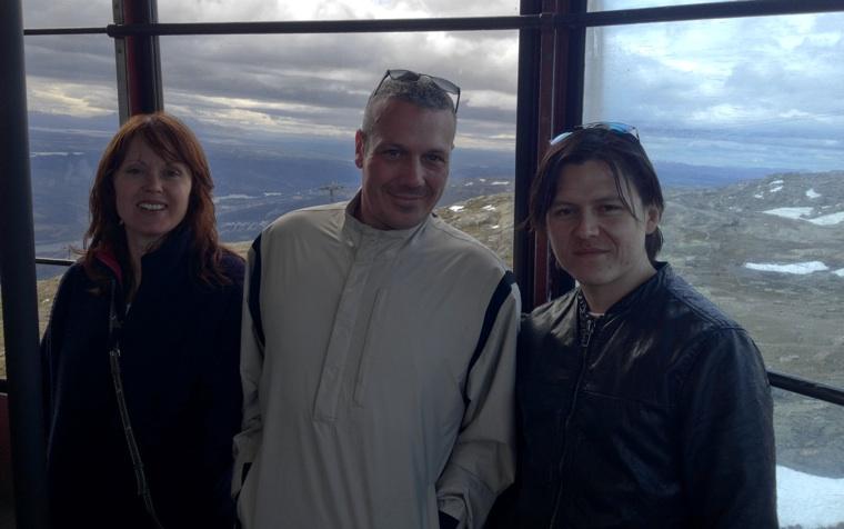 Georgia, Steve & Gerry