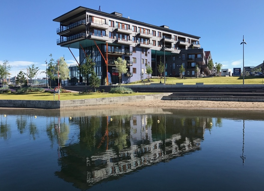 New Søregna apartments in Oslo