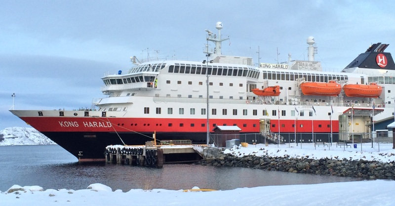 Hurtigruten northern terminus