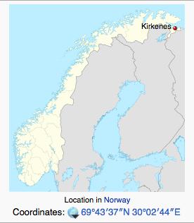 Where is Kirkenes